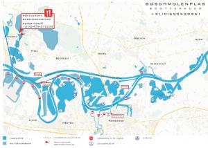 Vaarkaart Noord Limburg boot verhuur
